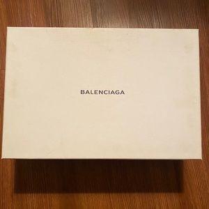Balenciaga Arena black leather Euro size 42